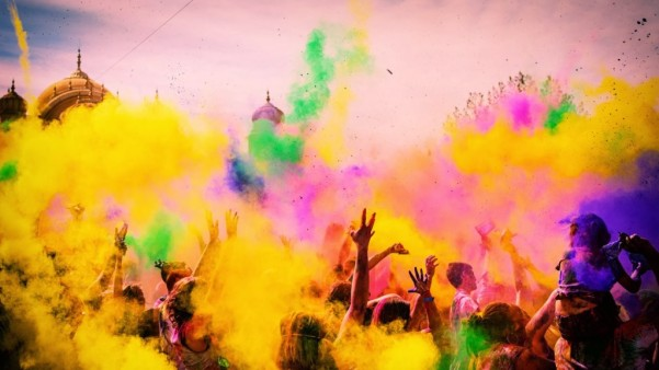 Holi Party Ideas- Handle the mess