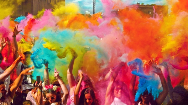 Holi Party Ideas- Venue- AMA Herbal