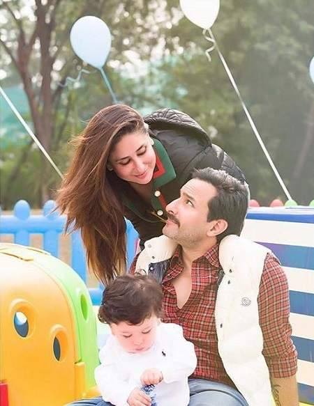 Taimur Khan's birthday celebrations 1