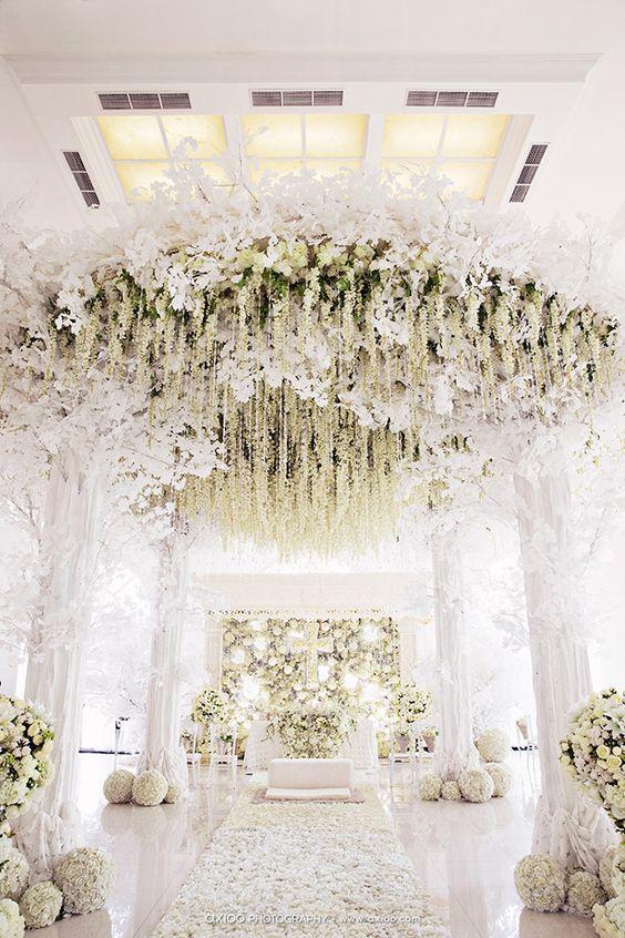 White Decor- Wedding Venues in Delhi2