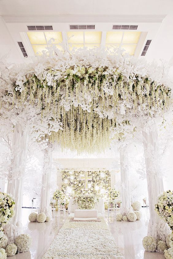 Decors To Get Married For Why You Should Choose An All White