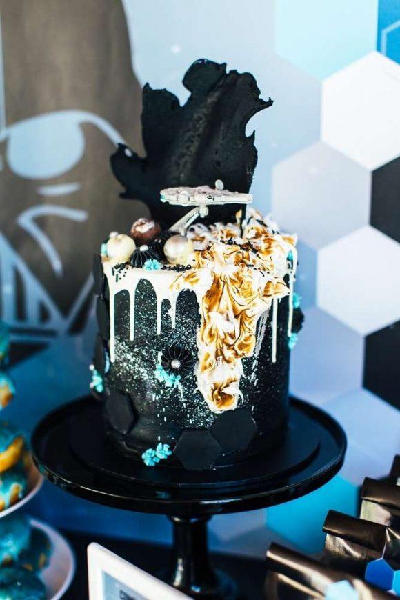 Star Wars- Birthday Party Themes (Cake Ideas)