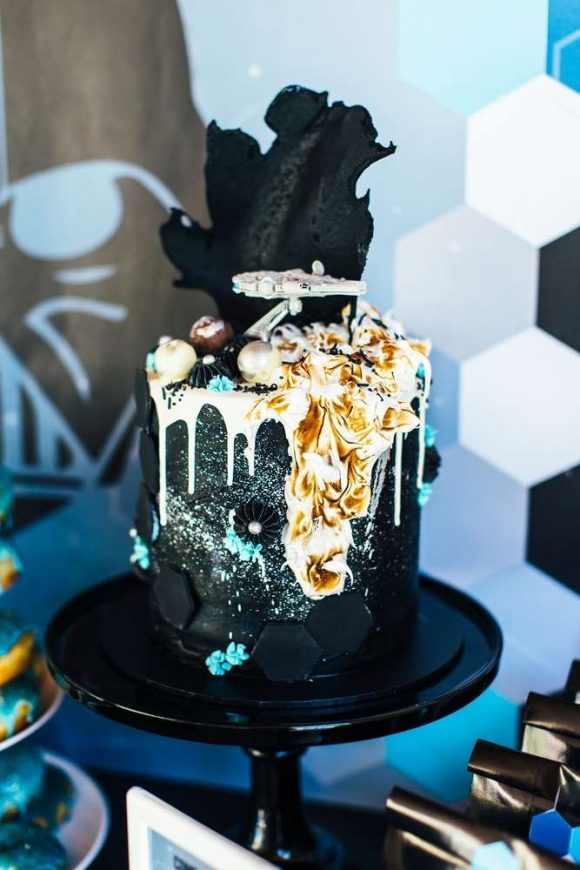Star Wars- Birthday Party Themes (Cake Ideas)