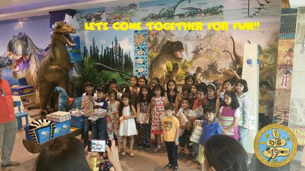 I Dig History- Kids Birthday Party Venues in Gurgaon